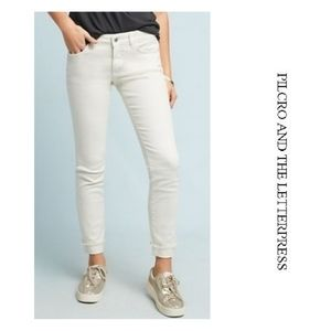 NWT Pilcro Mid Rise Skinny Ankle Jeans